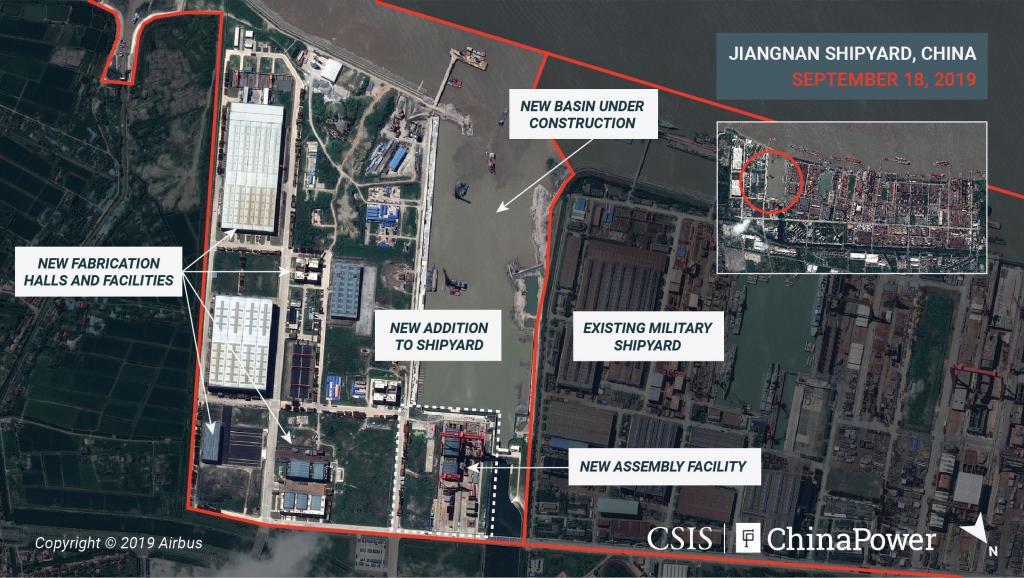 Ảnh vệ tinh độ phân giải cao hé lộ bí mật quân sự ở Trung Quốc