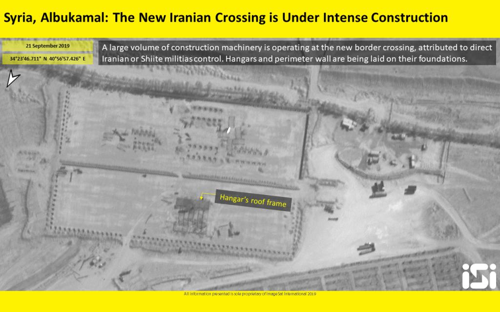 Ảnh vệ tinh phát hiện Iran xây cầu và căn cứ quân sự ở Đông Syria