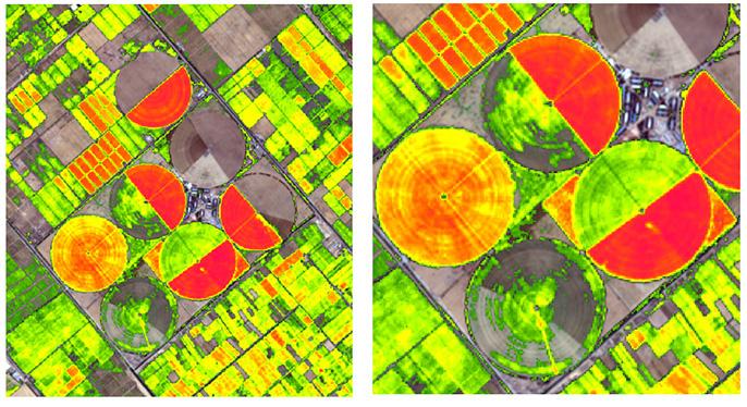 ứng dụng ảnh viễn thám trong nông nghiệp