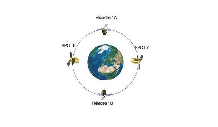 Vệ tinh SPOT 6 và 7 những ứng dụng trong thực tế