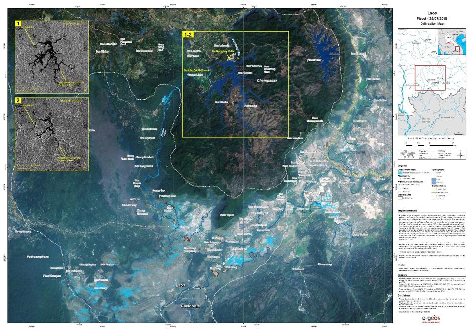 Dịch vụ cung cấp vệ tinh ảnh viễn thám trong mọi lĩnh vực