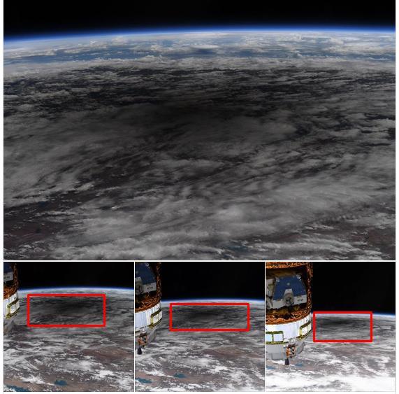 Phi hành gia của NASA ngắm nhật thực trên trạm vũ trụ Quốc tế ISS