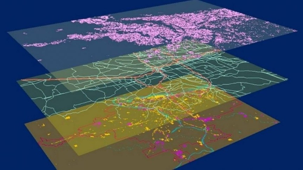 Development of specialized software Analysis of remote sensing and GIS