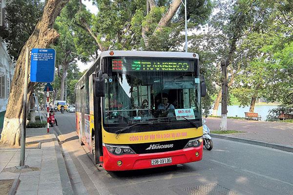 Bản đồ danh sách các tuyến xe bus xuất phát từ bến xe Giáp Bát - Nam Hà Nội