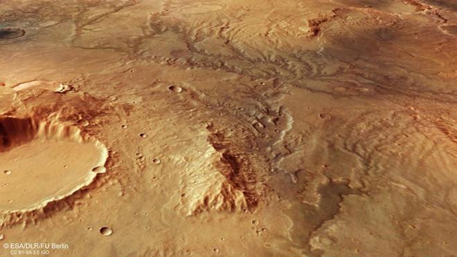 Sao Hỏa bị nhấn chìm bởi sóng thần cao hơn 300m